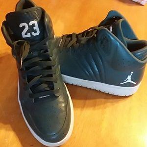 c3b587980f8 Nike Shoes - Mens Dark Green Jordans